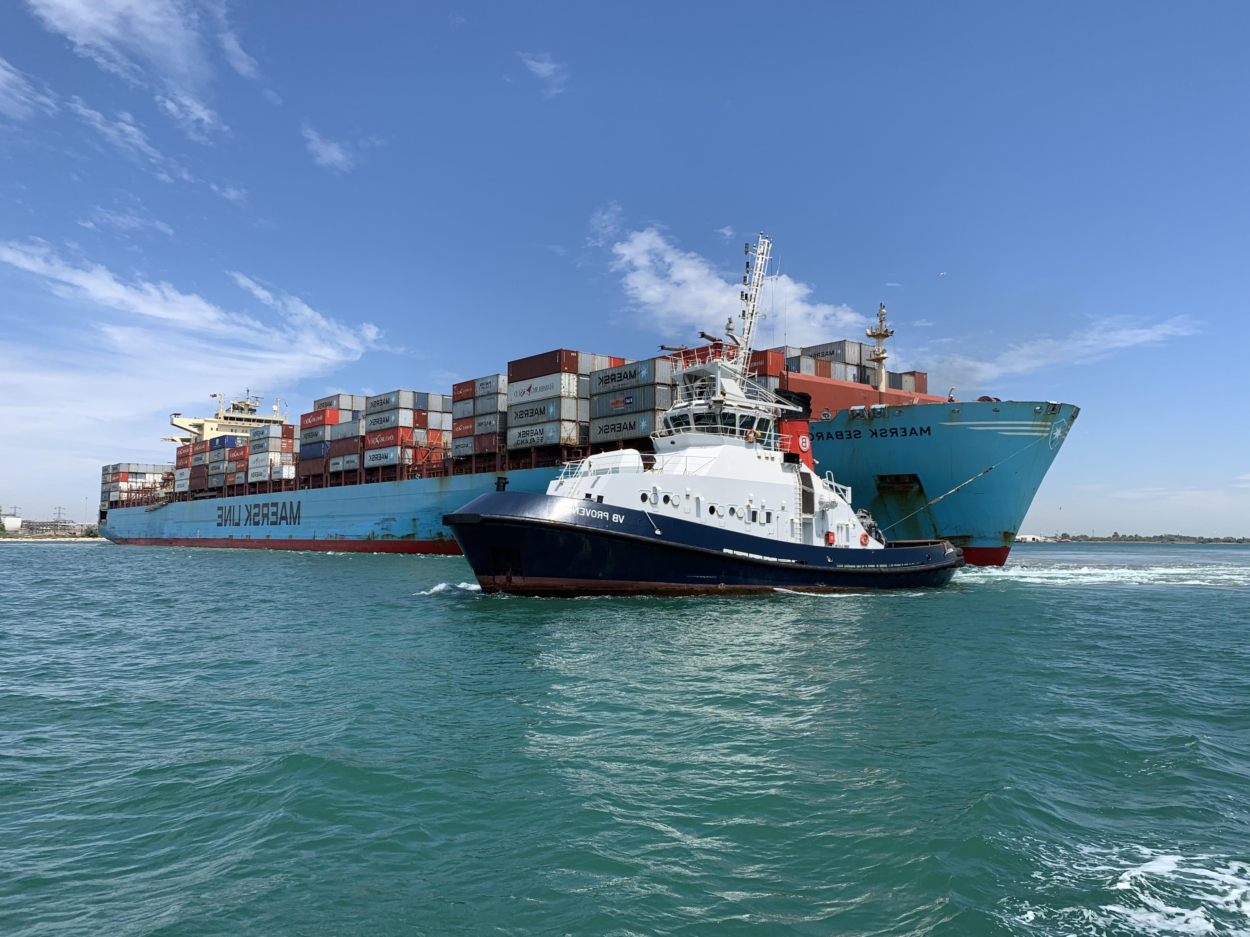 Marseille Fos VB Provence Maersk SEBAROK juin 2019 crédits Denis Monserand